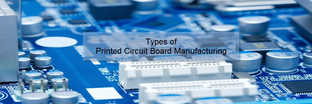 What are the Various Types of Printed Circuit Board Manufacturing